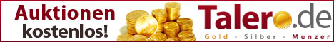 Talero.de: Gold, Silber, Münzen
